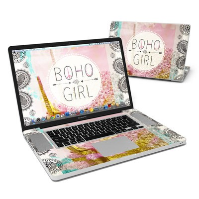 MacBook Pro 17in Skin - Boho Girl
