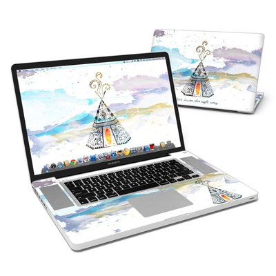 MacBook Pro 17in Skin - Boho Teepee