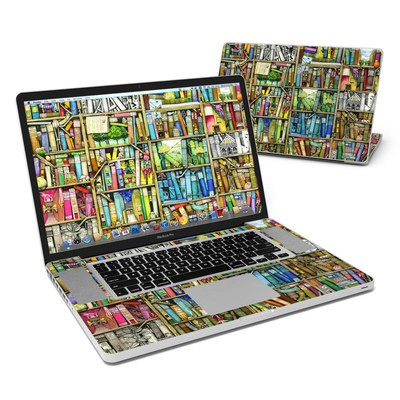 MacBook Pro 17in Skin - Bookshelf