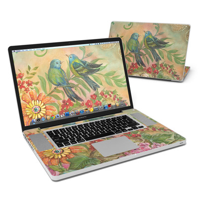 MacBook Pro 17in Skin - Splendid Botanical