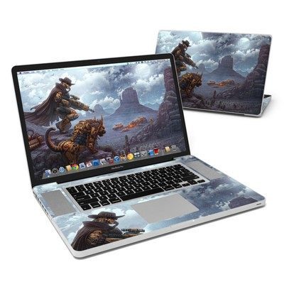 MacBook Pro 17in Skin - Bounty Hunter