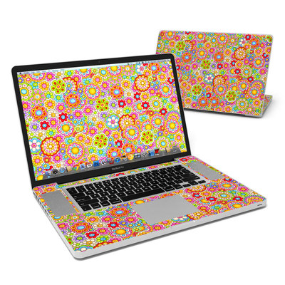 MacBook Pro 17in Skin - Bright Ditzy