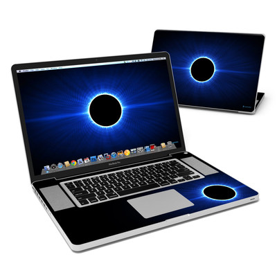 MacBook Pro 17in Skin - Blue Star Eclipse