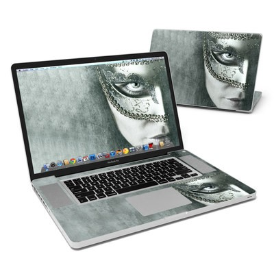 MacBook Pro 17in Skin - Behind the Mask