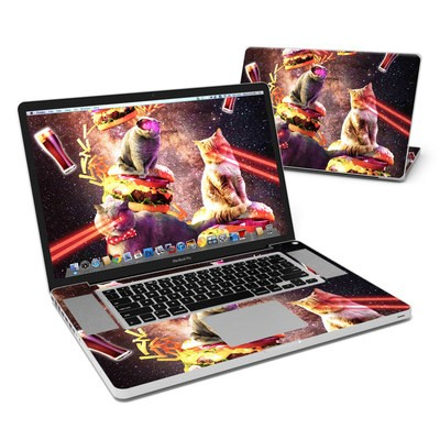 MacBook Pro 17in Skin - Burger Cats