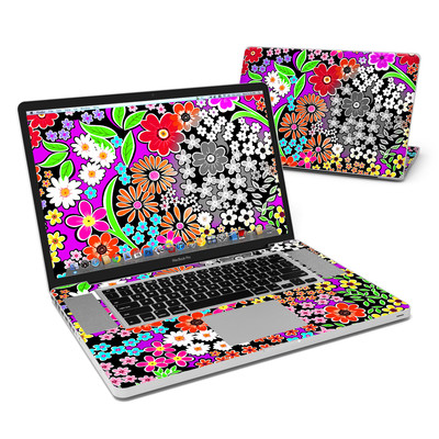 MacBook Pro 17in Skin - A Burst of Color