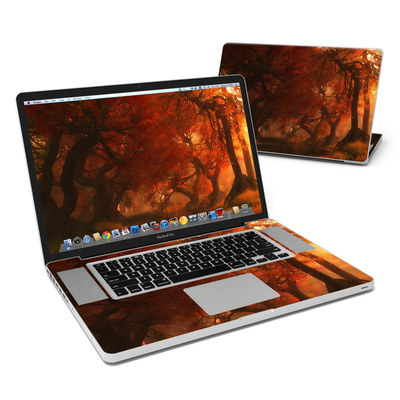MacBook Pro 17in Skin - Canopy Creek Autumn