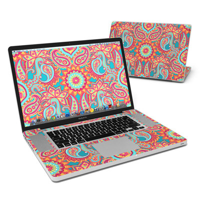 MacBook Pro 17in Skin - Carnival Paisley