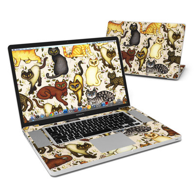 MacBook Pro 17in Skin - Cats