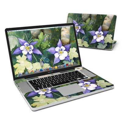 MacBook Pro 17in Skin - Colorado Columbines