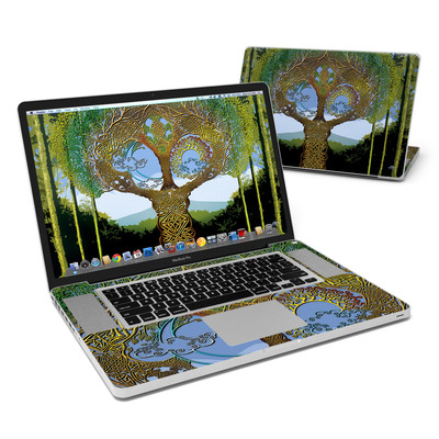 MacBook Pro 17in Skin - Celtic Tree