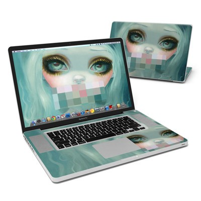 MacBook Pro 17in Skin - Censored Smile