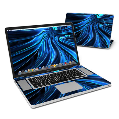MacBook Pro 17in Skin - Cerulean