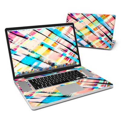 MacBook Pro 17in Skin - Check Stripe