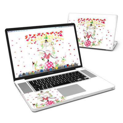 MacBook Pro 17in Skin - Christmas Circus