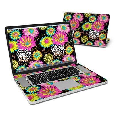 MacBook Pro 17in Skin - Chrysanthemum
