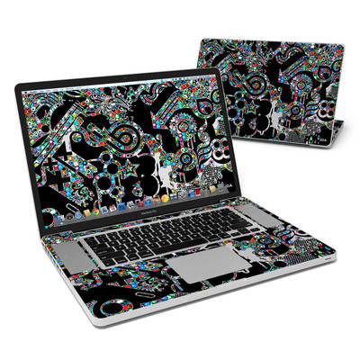 MacBook Pro 17in Skin - Circle Madness