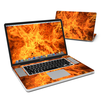 MacBook Pro 17in Skin - Combustion