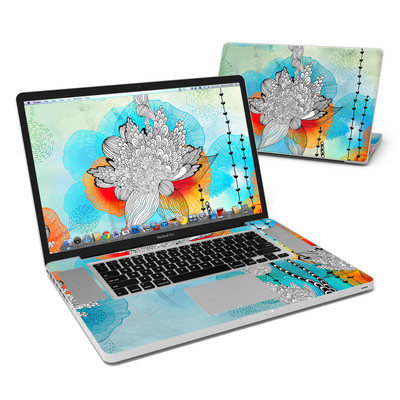 MacBook Pro 17in Skin - Coral