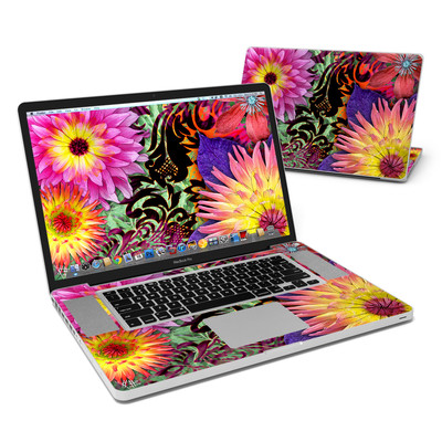MacBook Pro 17in Skin - Cosmic Damask