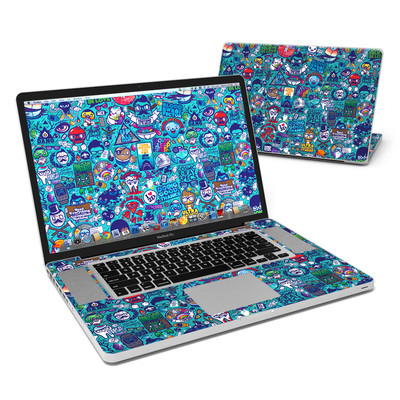 MacBook Pro 17in Skin - Cosmic Ray