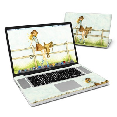 MacBook Pro 17in Skin - Cowgirl Glam