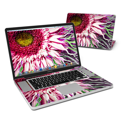 MacBook Pro 17in Skin - Crazy Daisy