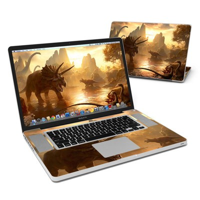 MacBook Pro 17in Skin - Cretaceous Sunset