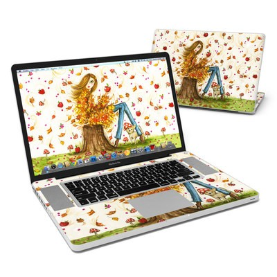 MacBook Pro 17in Skin - Crisp Autumn
