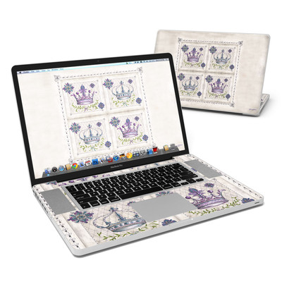 MacBook Pro 17in Skin - Purple Crown