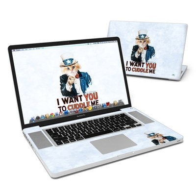 MacBook Pro 17in Skin - Cuddle Me
