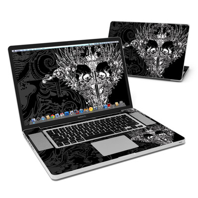 MacBook Pro 17in Skin - Darkside