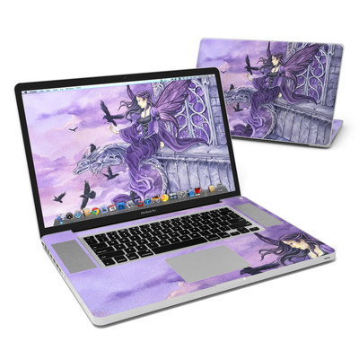 MacBook Pro 17in Skin - Dark Wings