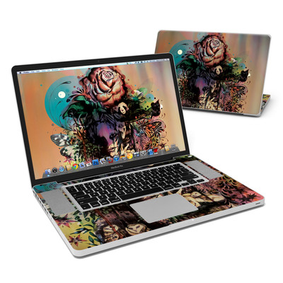 MacBook Pro 17in Skin - Doom and Bloom