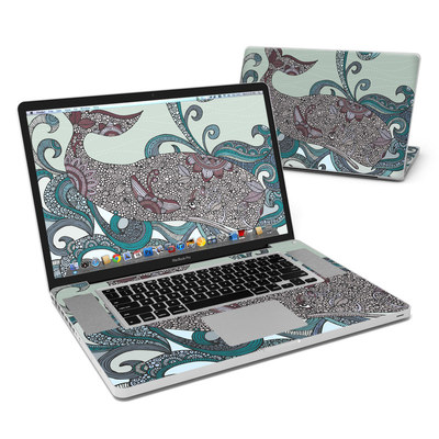MacBook Pro 17in Skin - Deep Blue Me