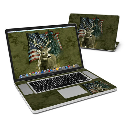 MacBook Pro 17in Skin - Deer Flag