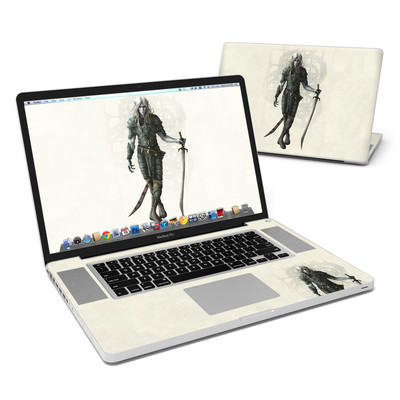 MacBook Pro 17in Skin - Dark Elf