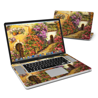 MacBook Pro 17in Skin - Via Del Fiori