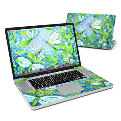 MacBook Pro 17in Skin - Dragonfly Fantasy
