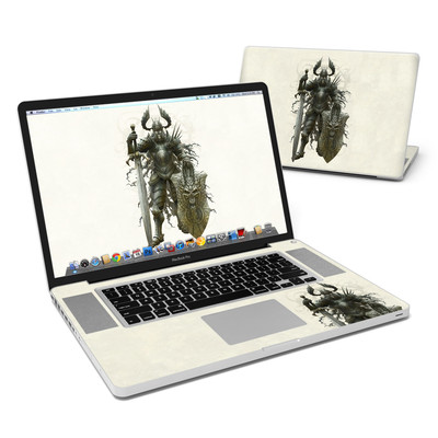 MacBook Pro 17in Skin - Dark Knight