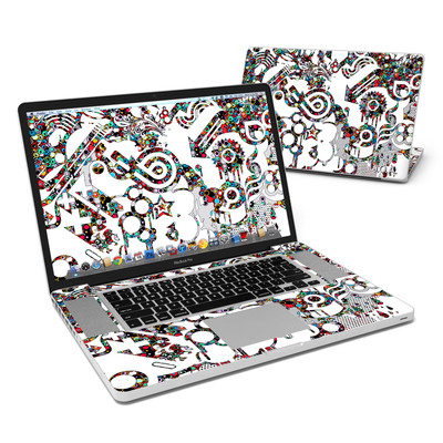 MacBook Pro 17in Skin - Dots