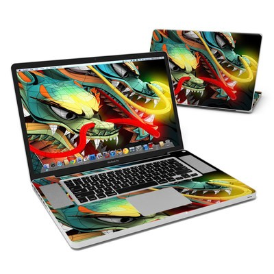 MacBook Pro 17in Skin - Dragons
