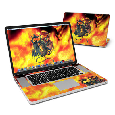 MacBook Pro 17in Skin - Dragon Wars