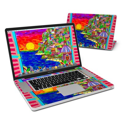 MacBook Pro 17in Skin - Dreaming In Italian