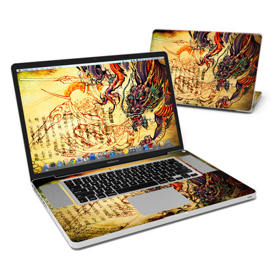 MacBook Pro 17in Skin - Dragon Legend