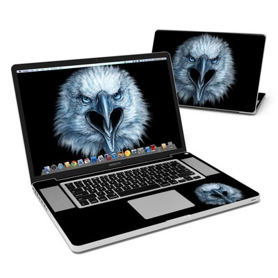MacBook Pro 17in Skin - Eagle Face