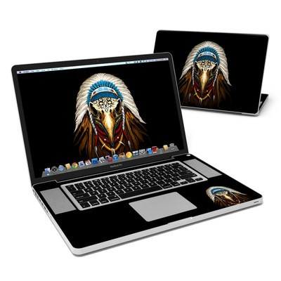 MacBook Pro 17in Skin - Eagle Skull