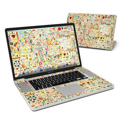 MacBook Pro 17in Skin - Effloresce