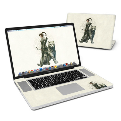 MacBook Pro 17in Skin - Half Elf Girl