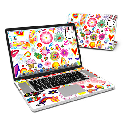 MacBook Pro 17in Skin - Eye Candy